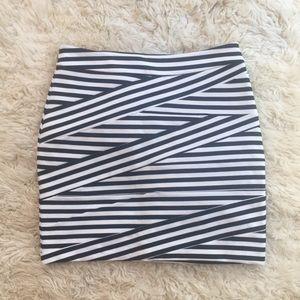 Stripe Bandage Express 12 Large Lg Skirt